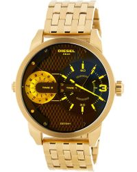 DIESEL - Men's Rollcase Canvas Watch - Lyst