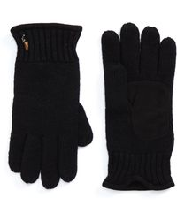 Polo Ralph Lauren - Classic Luxe Merino Wool Gloves - Lyst