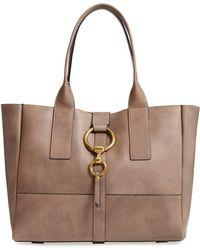 Frye - Ilana Harness Leather Shopper - Lyst