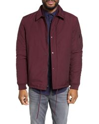 Calibrate - Collared Bomber Jacket - Lyst