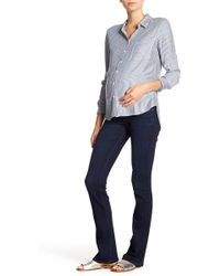 PAIGE - Manhattan Bootcut Jeans (maternity) - Lyst