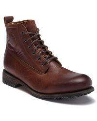 Blackstone - Km 32 Genuine Shearling Lined Lace-up Boot - Lyst