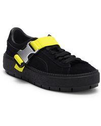 7bf22443b7e PUMA - Platform Trace Buckle Sneakers - Lyst