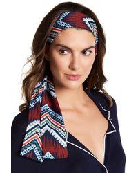 Cara - Printed Tie Headwrap - Lyst