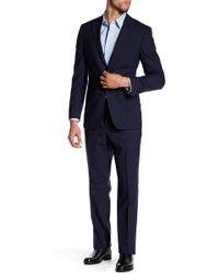 Spurr By Simon Spurr - Wide Plaid Modern-regular Fit Suit - Lyst