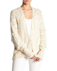 Free People - Knitted Cardigan - Lyst