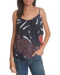 Joie - Leniline Printed High-low Top - Lyst