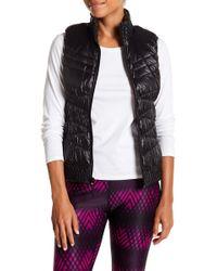 Warrior by Danica Patrick Active - Reversible Puffer Vest (regular & Plus) - Lyst