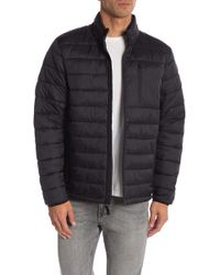 53ec24254 Lyst - Joe Fresh Hooded Quilted Puffer Jacket in Black for Men
