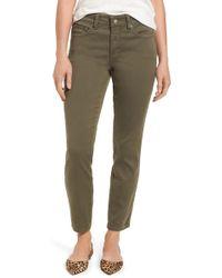 NYDJ - Ami High Waist Colored Stretch Skinny Jeans (regular & Petite) - Lyst