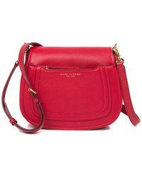 Marc Jacobs - Empire City Mini Messenger Leather Crossbody Bag - Lyst