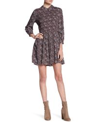 Juicy Couture | Smocked Floral Print Dress | Lyst