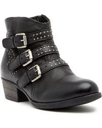 Miz Mooz - Barclay Studded Leather Bootie - Lyst
