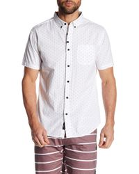 Imperial Motion | Winston Dot Print Standard Fit Shirt | Lyst
