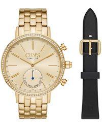 Chaps - Whitney Crystal Bracelet Hybrid Smart Watch, 42mm - Lyst