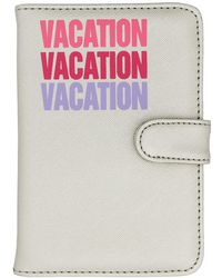 MIAMICA - Silver Passport Case - Lyst