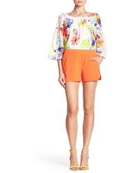 Trina Turk - Kristoph Shorts - Lyst