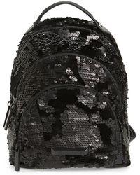 Kendall + Kylie - Mini Sloane Velvet & Sequin Backpack - Lyst