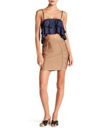Wow Couture - Grommet Detailed Bandage Skirt - Lyst