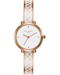 Ted Baker - Bree Bracelet Watch, 30mm - Lyst