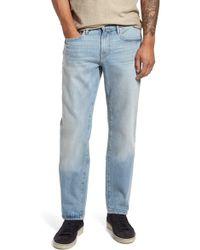 FRAME - L'homme Straight Leg Jeans (bexley) - Lyst