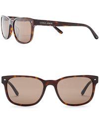 Giorgio Armani - Men's Wayfarer 56mm Acetate Frame Sunglasses - Lyst