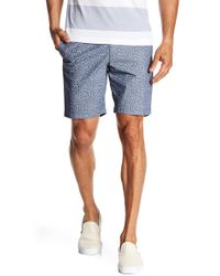 Original Penguin - Patterned Chambray Shorts - Lyst