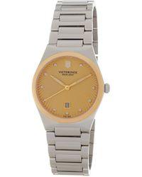 Victorinox - Women's Victoria Bracelet Watch, 32mm - Lyst