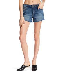 Joe's Jeans - The Ozzie Frayed Denim Shorts - Lyst