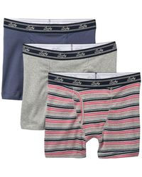 Lucky Brand Assorted Boxer Briefs - Pack Of 3