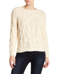 Soft Joie | Candessa Cable Knit Sweater | Lyst