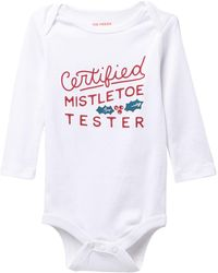 Joe Fresh - Long Sleeve Graphic Print Bodysuit (baby) - Lyst