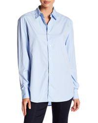 FRAME - Worn-in Work Shirt - Lyst