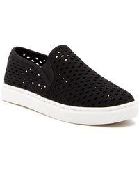 02aa0141049 Lyst - Steve Madden Pluto Embellished Slip-on Sneaker in Black