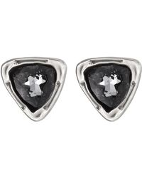 Uno De 50 - Twinkle Twinkle Little Star Swarovski Crystal Accented Stud Earrings - Lyst