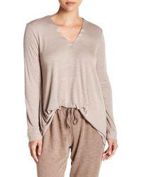 N Natori - Speckled Interlock Shirt - Lyst