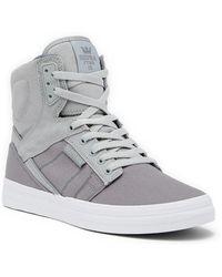 Supra - Ridgemont Hi Top Sneaker - Lyst