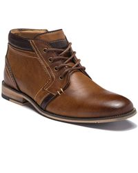 Steve Madden - Komp Leather Chukka Boot - Lyst
