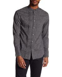 John Varvatos | Wing Collar Slim Fit Shirt | Lyst