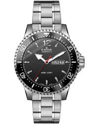 EDOX Watches - Men's Chronorally-s Swiss Quartz Bracelet Watch, 44mm - Lyst