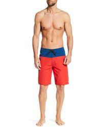Tavik | Wexler Colorblock Boardshorts | Lyst