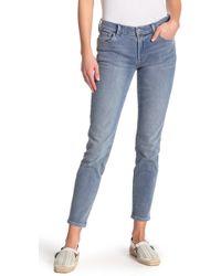 0577956ac84d J Brand 8112 Rail Faded Skinny Jeans in Blue - Lyst