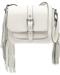 Vince Camuto - Hil Flap Leather Crossbody - Lyst