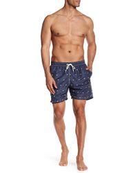 Barbour | Crab Print Swim Shorts | Lyst