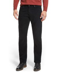 AG Jeans - Graduate Tailored Straight Leg Corduroy Pant - Lyst
