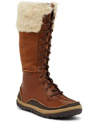 Merrell - Tremblant Tall Faux Fur Trimmed Waterproof Boot - Lyst