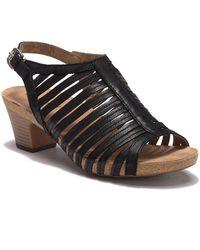 4bced7e60aff Lyst - Josef Seibel Ruth Lace-up Sandal in Black