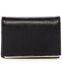 Halogen - Leather Bar Cardholder - Lyst