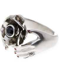 Marc By Marc Jacobs - Hand Flower Ring - Size 6 - Lyst