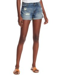 Articles of Society - Behy Denim Shorts - Lyst